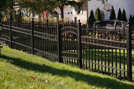 commercial aluminum fence 1000 series digger specialties inc