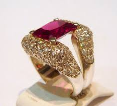 ruby emerald rings images Ruby emerald shaped and cubic zirconia dazzling sterling silver jpg