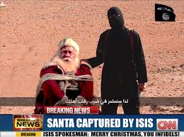 Merry Christmas Meme Generator - isis and santa blank template imgflip
