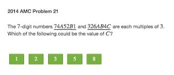 edmodo problems amc 8 math competition problems and solutions online