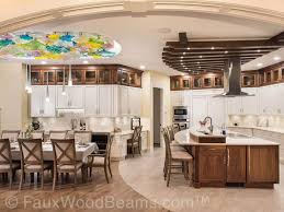 ceiling ideas for kitchen 15 faux wood ceiling beam ideas photos