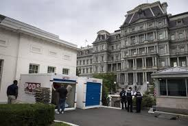 White House Renovation Trump by Donald Trump Is Renovating The White House Including The Empty