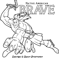native american coloring pages arterey info