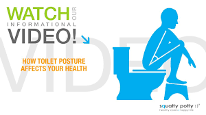 Bathroom Sitting Stools Squatty Potty Toilet Stool How Toilet Posture Affects Your