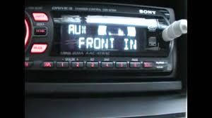 sony xplod cdx gt510 radio youtube