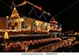pictures of christmas lights on houses christmas lights house stock images royalty free images vectors