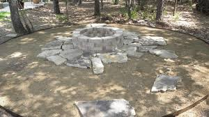 Flagstone Firepit Flagstone Pit Diy Pit Design Ideas