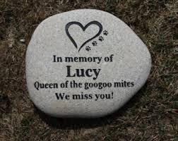 engraved memorial stones pet memorial stones etsy