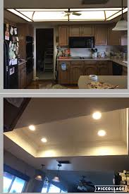 Recessed Lighting Installation Az Recessed Lighting Kitchen Transformation Demo Led Lighting
