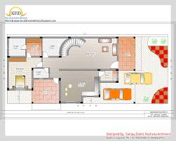 3 Bedroom House Plans Indian Style Duplex House Plan And Elevation Home Appliance