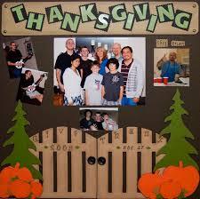 precious treasures fall thanksgiving scrapbook