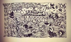 curieux comme un pot de chambre embroidery patterns a pot pourri of cultural influences bright
