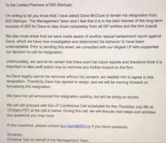 dave mcclure has resigned as gp of 500 startups techcrunch