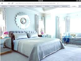 Modern Chic Bedroom by Modern Chic Light Blue Silver Bedroom Design Sun Mirror Crystal