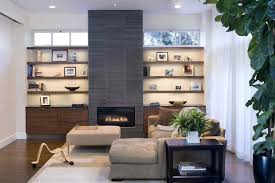 decorating built in shelves grey brick ceramic fireplace decorating ideas for small living room with baseboards and built in wooden decorating built in
