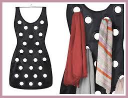 jual little black dress hanging scarf organizer rak untuk