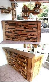 Wood Pallet Furniture Best 25 Wood Pallet Bar Ideas On Pinterest Bar Outdoor Pallet