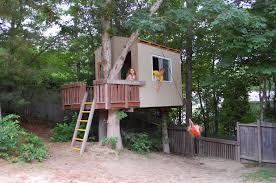 simple tree house plans for kids