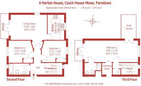 3 bedroom duplex for sale in coach house mews ferndown dorset