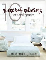 Guest Bed Small Space - 10 guest bed solutions for small spaces u2013 satsuma designs