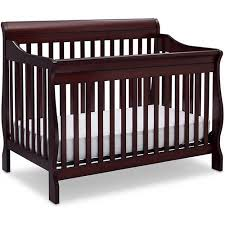 Espresso Convertible Cribs Delta Children Canton 4 In 1 Convertible Crib Espresso Cherry