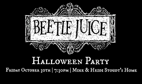 beetlejuice halloween party parties for pennies