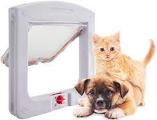 Interior Cat Door With Flap by Plastic Cat Doors U0026 Flaps Ebay