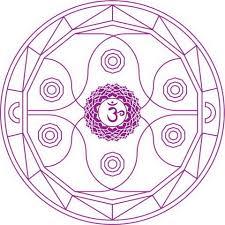 ajna chakra mandala coloring free printable coloring pages