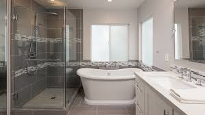 Glass Bathroom Tile Ideas Bathroom Exciting How To Install A Bathroom Tiles Design