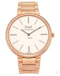piaget automatic piaget altiplano 18k gold diamond automatic men s