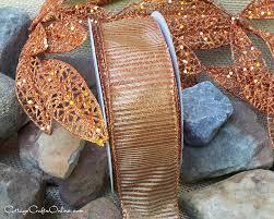 copper ribbon shine a light glo and verona copper ribbons