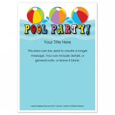 pool party invitations pool party invitations templates free for your inspiration