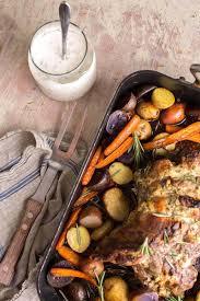roasted leg of lamb with yogurt mint marinade stonyfield recipes