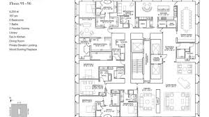 trump tower chicago floor plan notable house the most