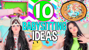 10 babysitting activities fun diy project crafts ideas life