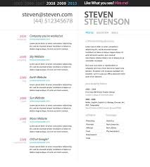 Great Resume Templates For Microsoft Word Microsoft Resume Templates Free Editable Chronological Resume