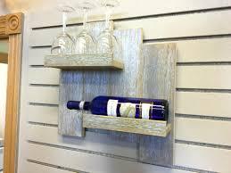 wine racks on wall small reclaimed wood pallet wine rack with wine