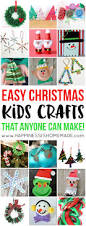 easy christmas kids crafts that anyone can make happiness is