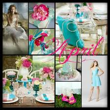 april wedding colors wedding color ideas by month me weddings wedding