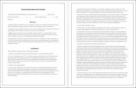 investment advisory agreement template agreement for