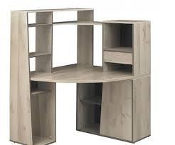 bureau angle avec rangement rangement bureau pas cher meuble d angle en verre lepolyglotte