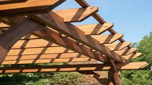 backyard discovery cedar pergola 10 by 12 youtube