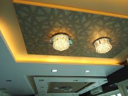 wonderful bedroom idea with suspended ceiling light idea