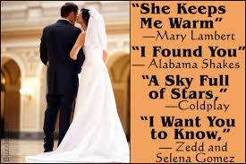 wedding songs modern wedding songs that ll perfectly tell your story