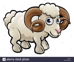 a ram farm animals cartoon character stock photo royalty free