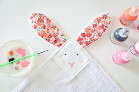 diy bunny lovey project nursery