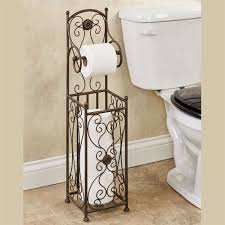 toilet paper stand kadalynn antique bronze toilet paper holder stand