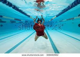 Inside Swimming Pool Young Mother Age 30 Child Stock Photo 644570968 Shutterstock