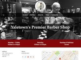 Barnes Barber Shop 100 Barber Shop U0026 Shave Parlor Web Designs