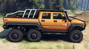 New Hummer H2 H2 Sut 6x6 For Spin Tires